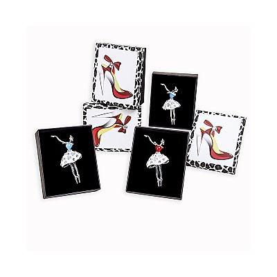 Broche bailarina en caja ref.13