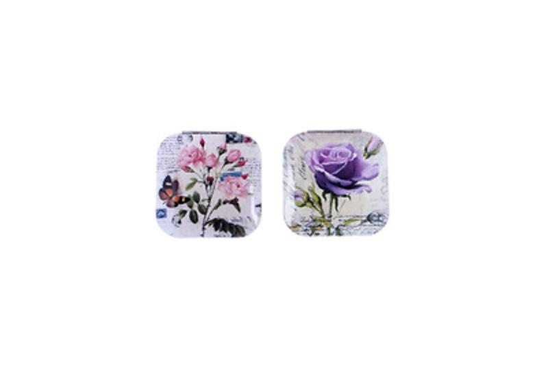 Detalles de boda espejos metal flores Ref.2662 Etiquetas GRATIS