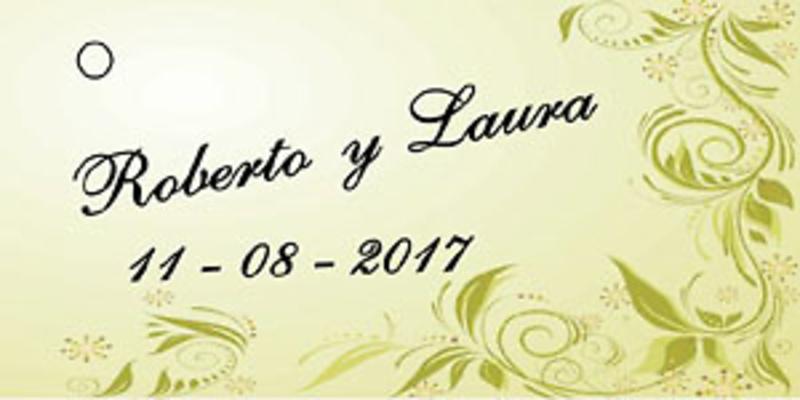 Etiquetas boda Otoño