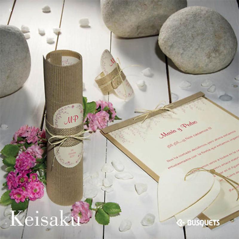 Invitación Keisaku. Impresión INCLUIDA.