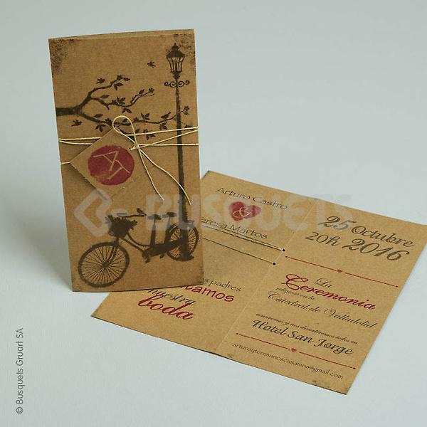 Invitación boda 18957
