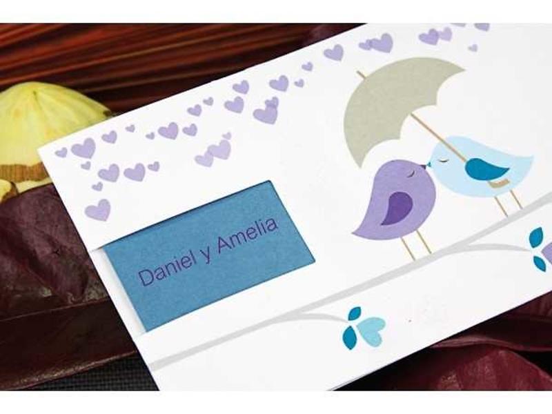 Invitación boda ref.100666. Impresión Gratis