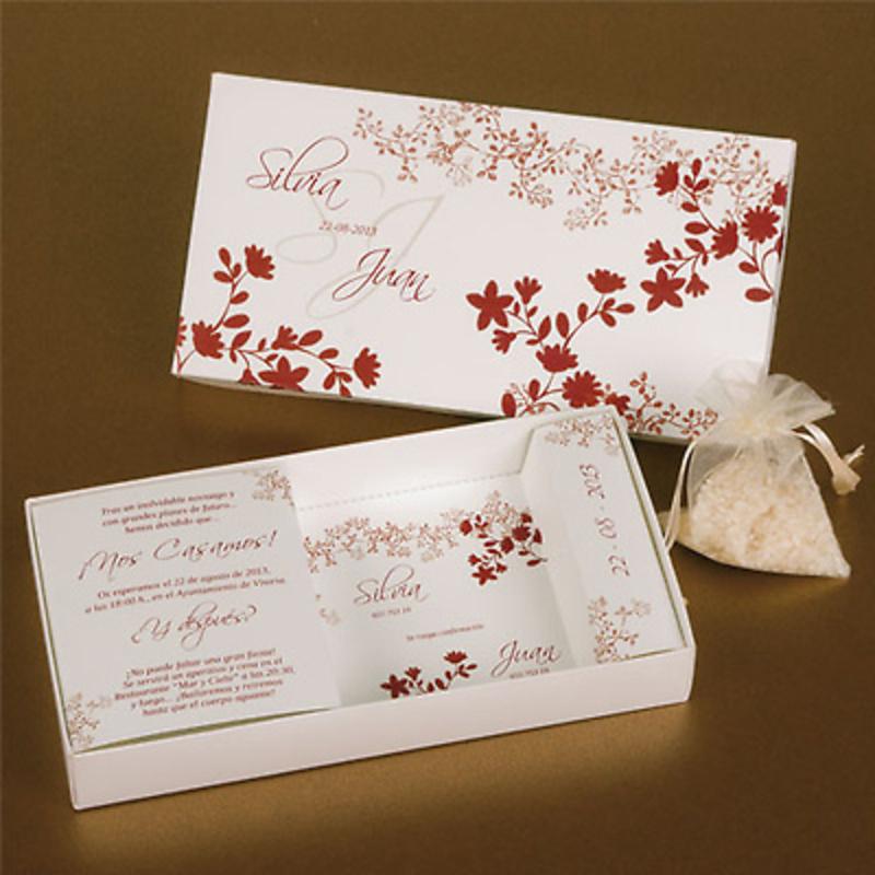 Invitación caja de arroz Ref.3337013233
