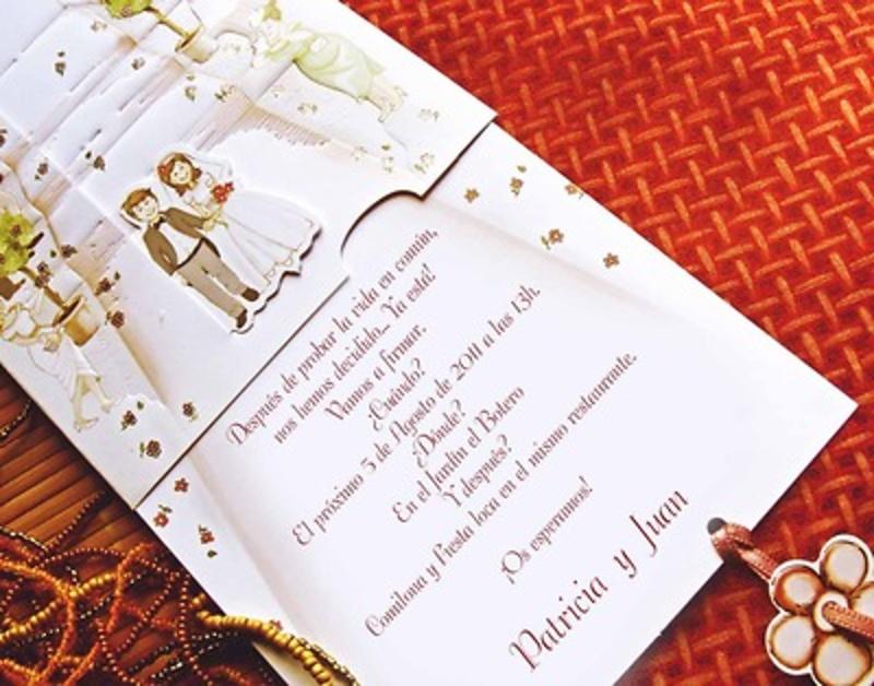 Invitación cardnovel Ref.31301 Impresión GRATIS