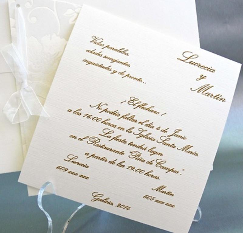 Invitación cardnovel Ref.32828 Impresión GRATIS