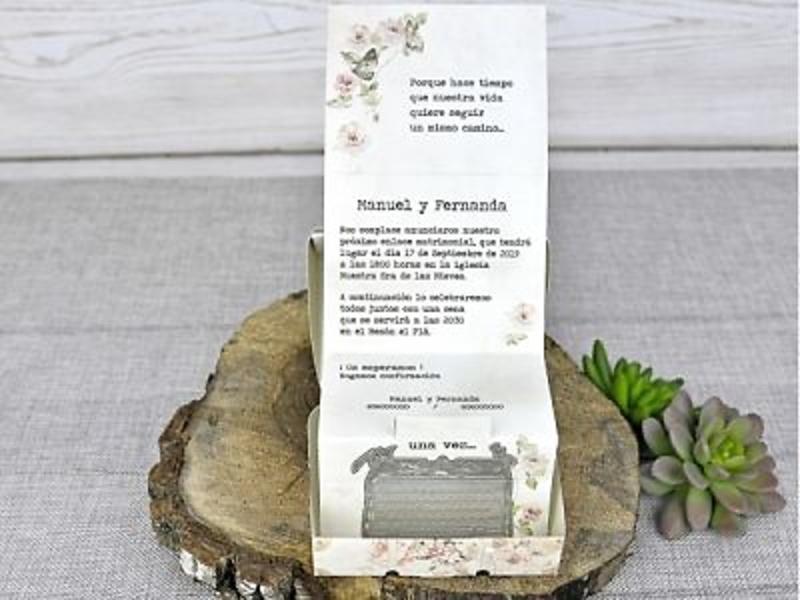 Invitación de boda 39300