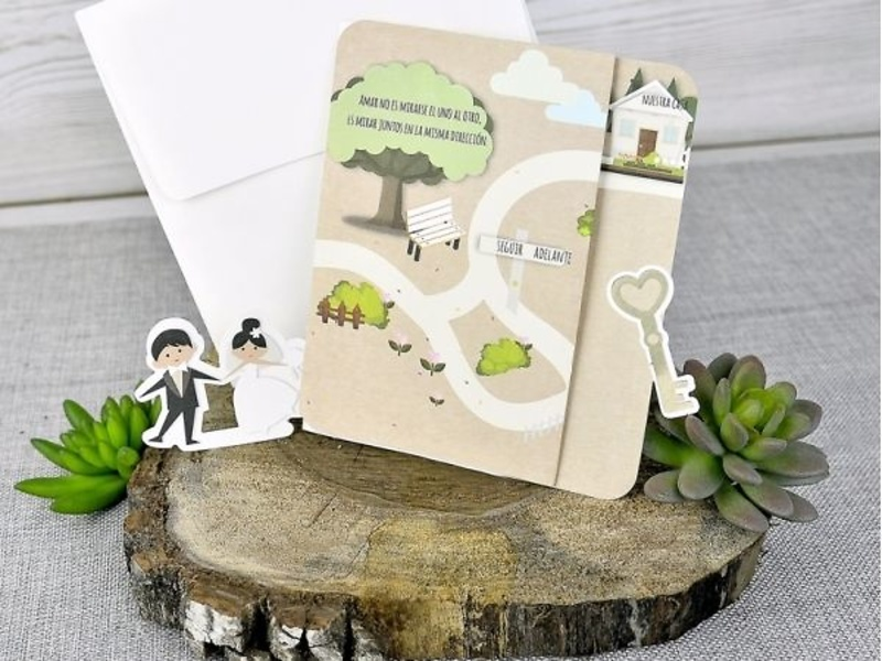 Invitación de boda 39301
