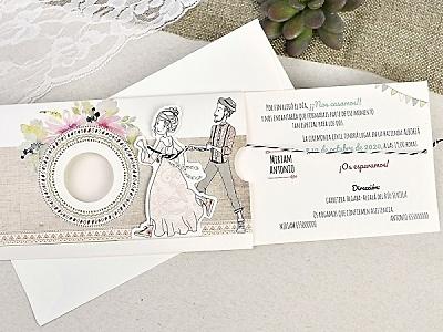 Invitación de boda 39634