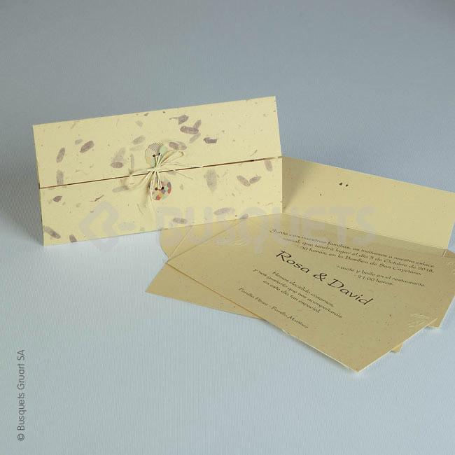 Invitación de boda Ref.18936 Impresión GRATIS