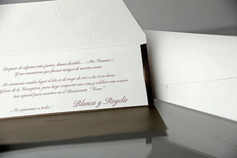 Invitación de boda Cardnovel 34901 Impresión GRATIS
