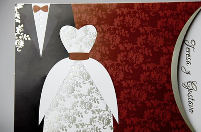 Invitación de boda Cardnovel 34911 Impresión GRATIS