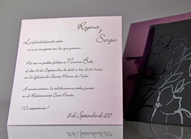 Invitación de boda Cardnovel 34919 Impresión GRATIS
