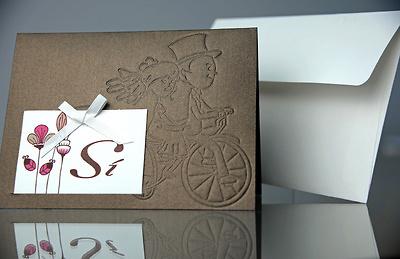 Invitación de boda Cardnovel 34921 Impresión GRATIS
