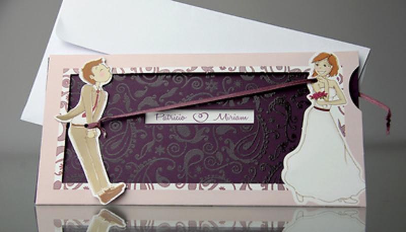 Invitación de boda Cardnovel 34932 Impresión GRATIS