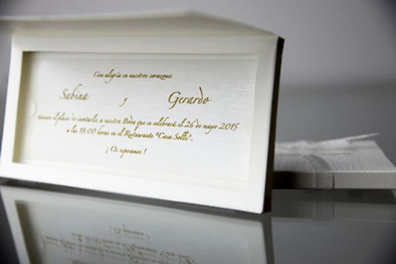 Invitación de boda Cardnovel 34949 Impresión GRATIS