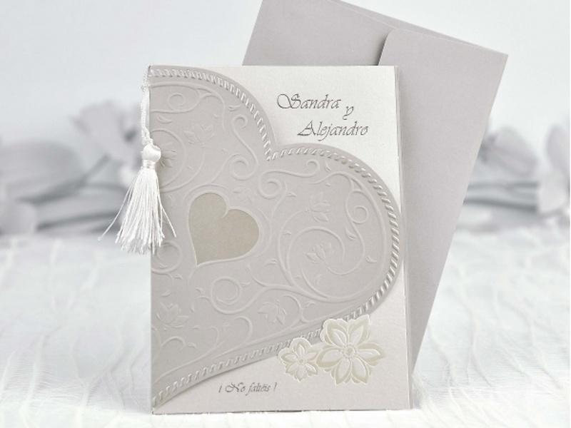 Invitación de boda Cardnovel ref.35103.
