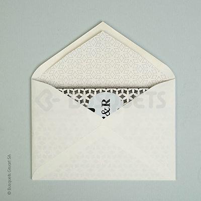 Invitación de boda Encarpetados Ref. 19591