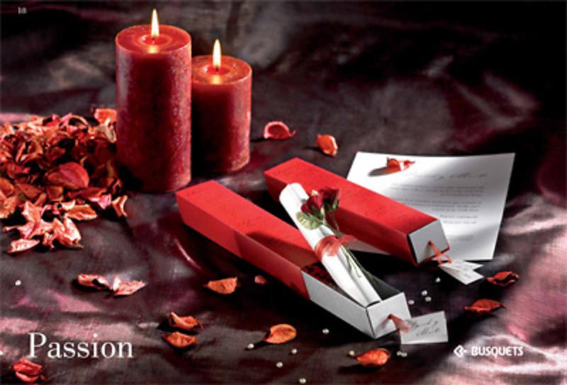 Invitación de boda Passion Ref.15325 IMPRESION GRATIS