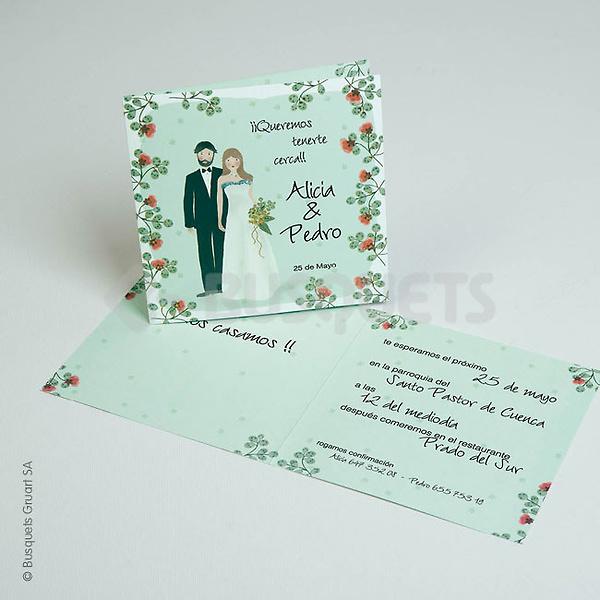 Invitación de boda Ref 3204416797 IMPRESION GRATIS