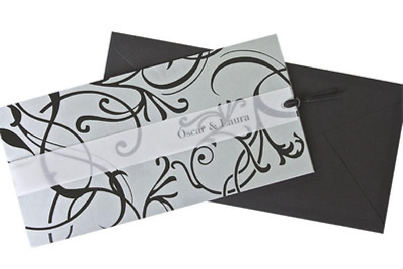 Invitación de boda Ref.100535 IMPRESION GRATIS