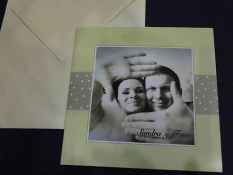 Invitación de boda Ref.30007 - Impresión GRATIS