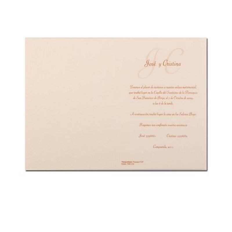 Invitación de boda Ref.3203310715 Impresión GRATIS