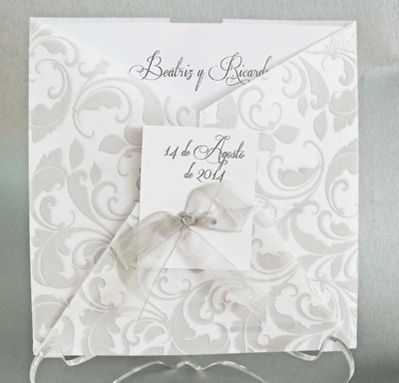 Invitación de boda cardnovel Ref.32821 IMPRESION GRATIS