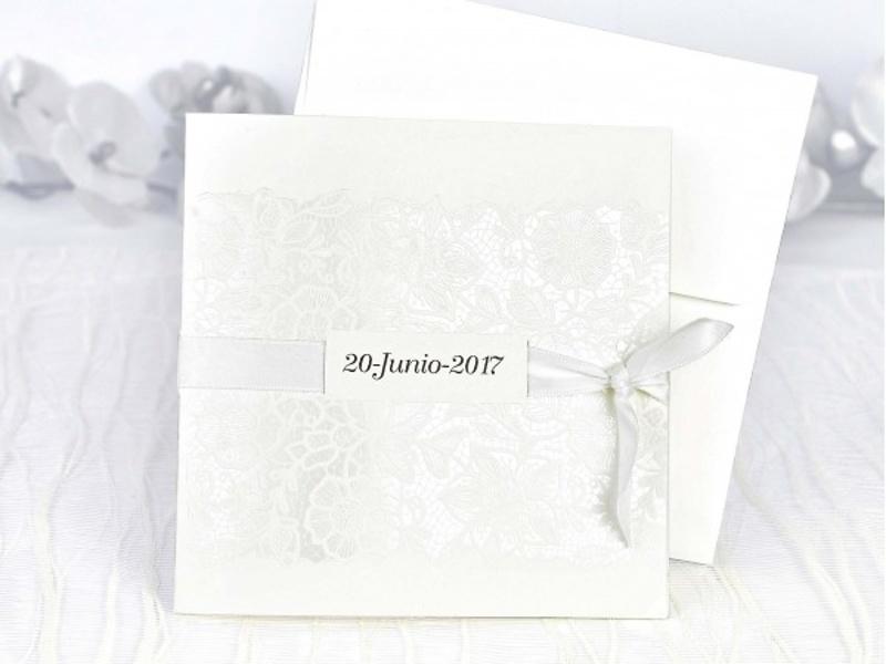 Invitación de boda cardnovel ref.39108