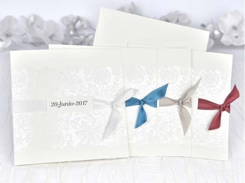 Invitación de boda cardnovel ref.39108.