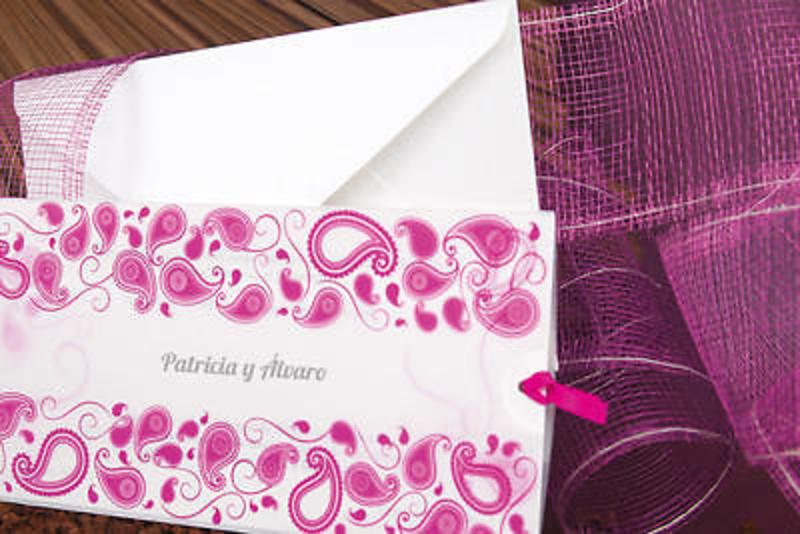 Invitación de boda ref.100671 - Impresión GRATIS