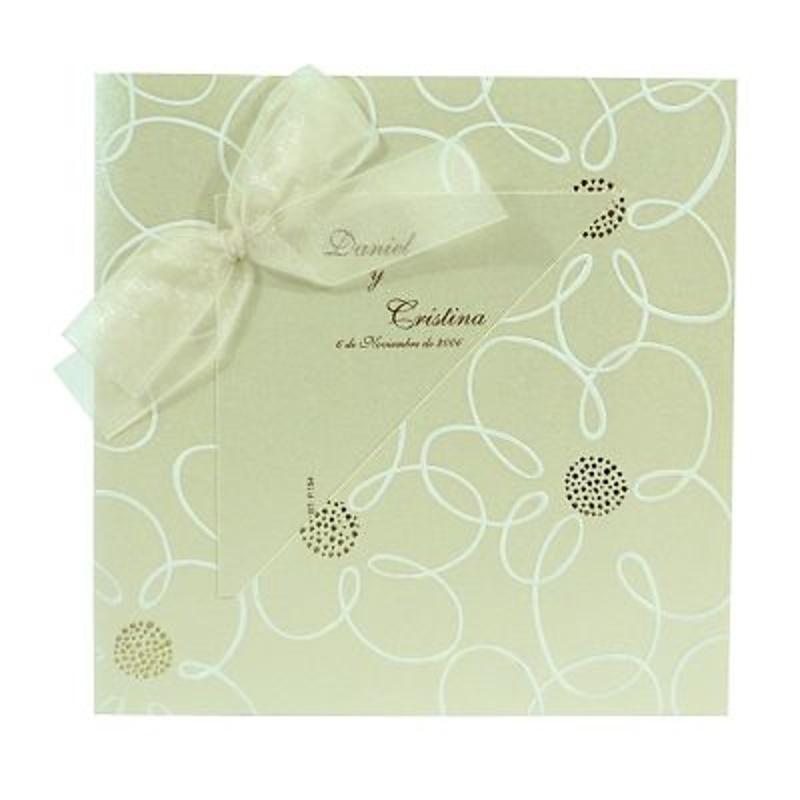 Invitación de boda ref.101426 - Impresión GRATIS.