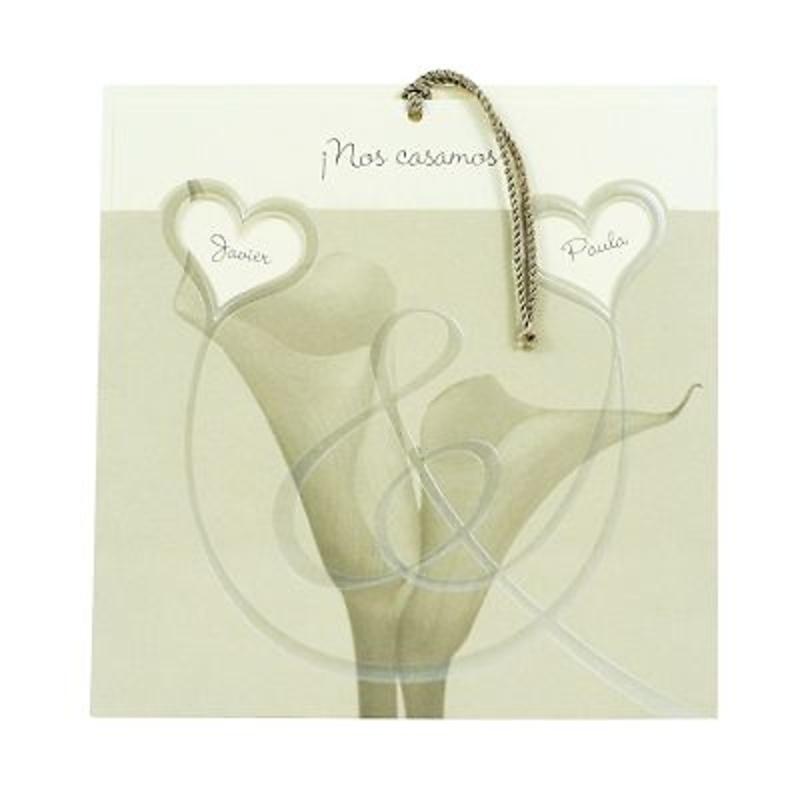 Invitación de boda ref.21551- Impresión GRATIS.