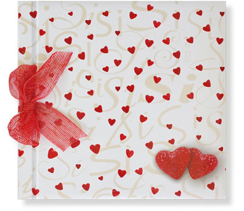 Libro de firmas corazones Ref.700001