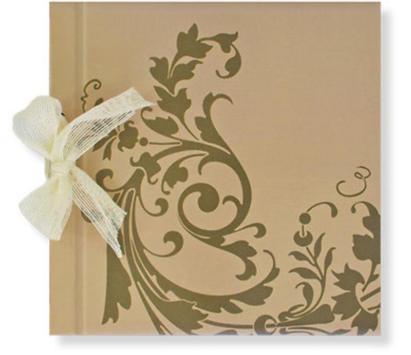 Libro de firmas marrón Ref 700.005