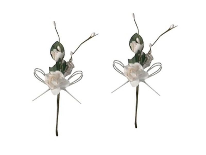 Ramo de flor blanco. Ref.8502