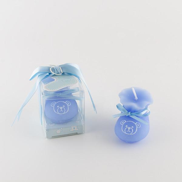 Vela bebé azul ref.1402