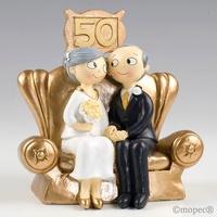 Figura pastel Pop & Fun Bodas de Oro