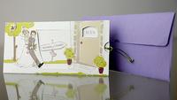 Invitación de boda Cardnovel 34947 Impresión GRATIS