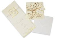 Invitación de boda Ref.100476 - IMPRESION GRATIS