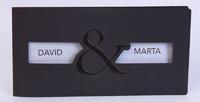 Invitación de boda Ref.100727