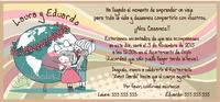 Invitación de boda Ref.22704 Impresión GRATIS