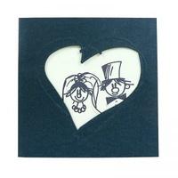 Invitación de boda Ref.950212 - Impresión GRATIS.