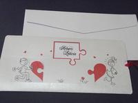 Invitación de boda cardnovel Ref. 30079 - Impresión GRATIS