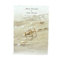 Invitación de boda ref.21407 Impresión GRATIS.