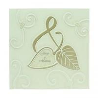 Invitación de boda ref.26092 - Impresión GRATIS.