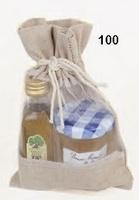 Miel y aceite en saquito