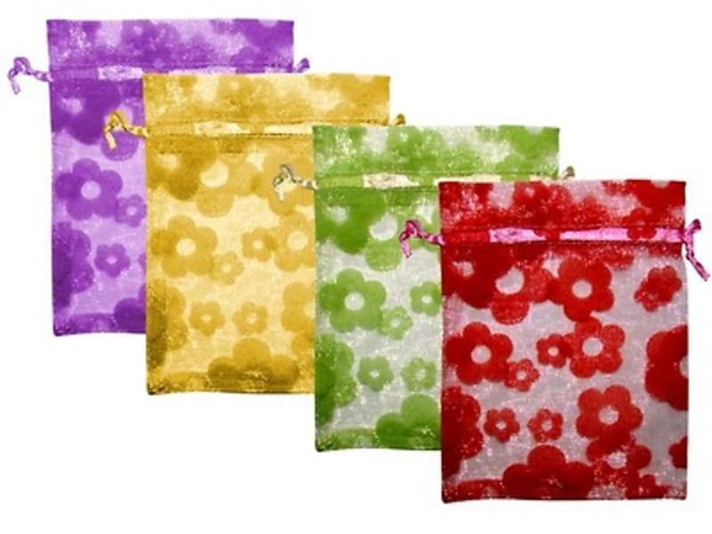 Bolsas flores de 10 x 14 cm