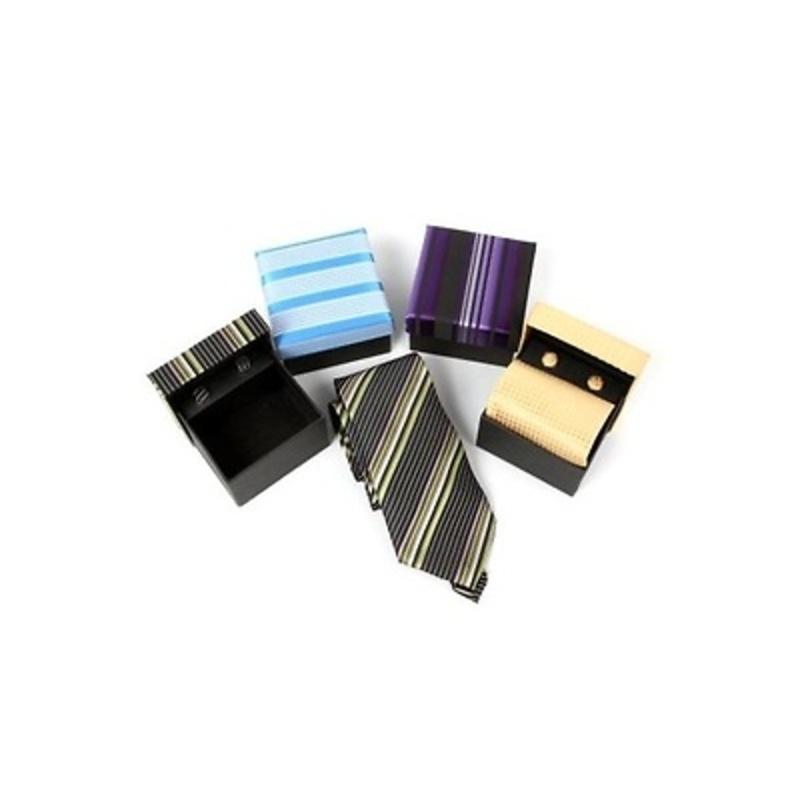 Corbata y gemelos ref.4521
