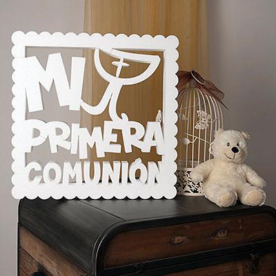 Corcho Mi primera comunión modelo cáliz