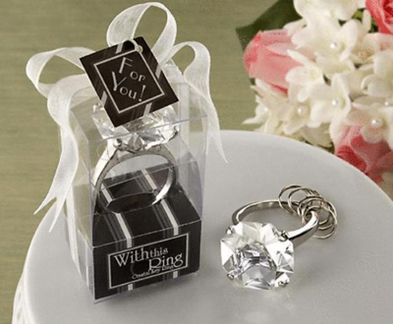 Detalle de boda llavero anillo Ref.2532